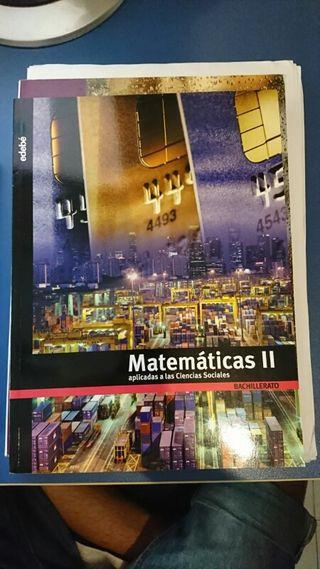 libro 2° bachillerato matematicas (edebe)
