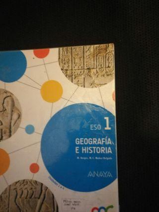 Libro 1 eso Geografía e Historia