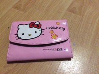 Funda nintendo 3DS XL de HELLO KITTY