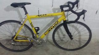 bicicleta de carretera Scott afd comp perfecta