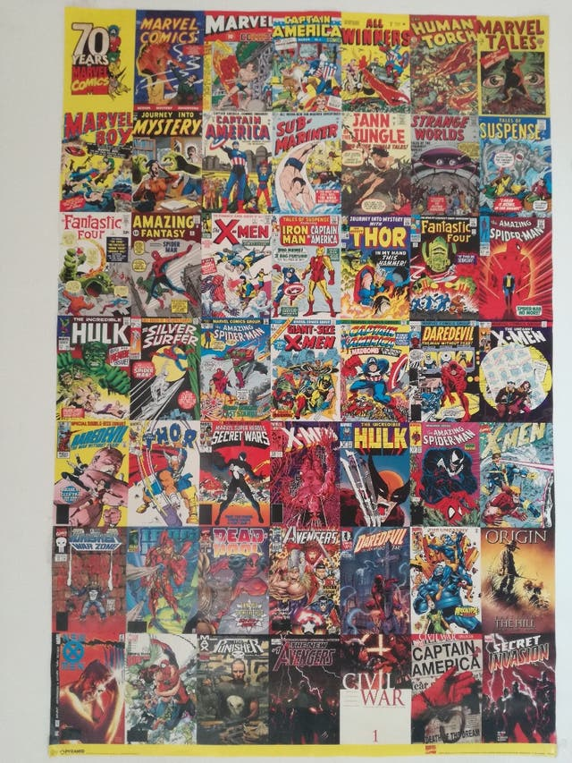 Póster Marvel Comics