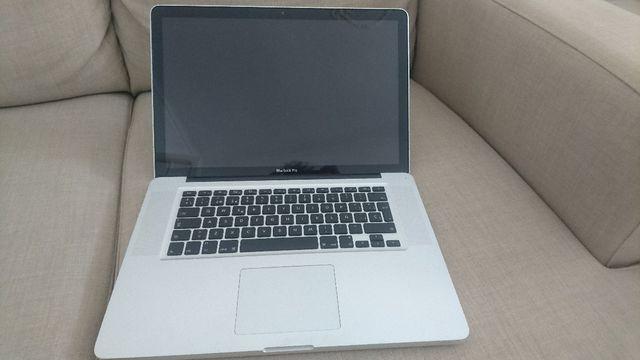 Macbook pro 2011 I7, averiado