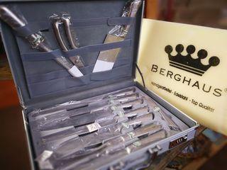 Colección de cuchillos Alemanes Berghau 11 piezas.