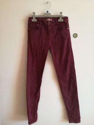 Pantalones Granates Bershka