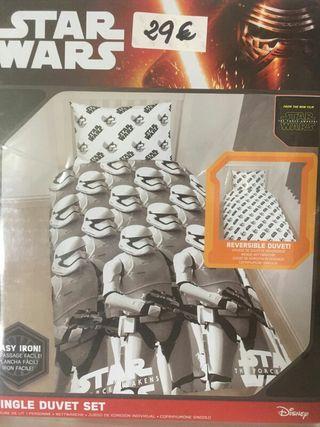 Funda edredon reversible star wars