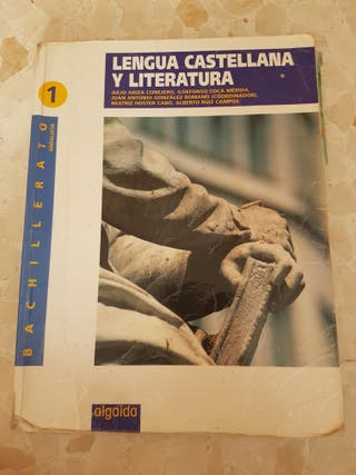 libro lengua 1 bachillerato algaida