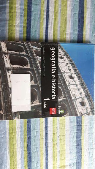 Libro geografía e historia. SM. 1 ESO