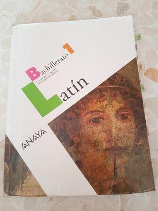 libro latin 1 bach anaya