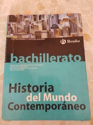 libro historia del mundo contemporaneo bruño bach