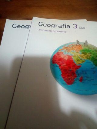 libro texto geografia tercero eso