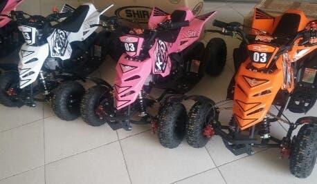 mini quads niño