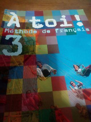 libro texto francés 3 eso