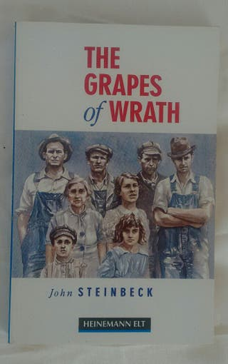 "libro ""the grapes of wrath"""