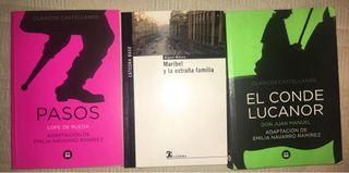 Libros de lectura de la ESO