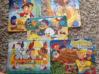 5puzzles infantiles