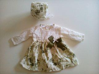 *Nuevo con etiqueta* Vestido bebé niña