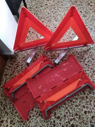 Triángulos coche