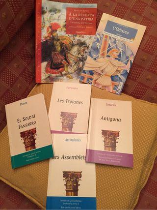 Libros texto Cultura clàssica