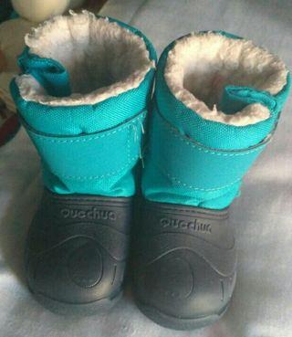 Botas de agua y nieve