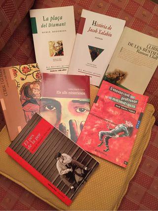 Libros texto escolares catalan