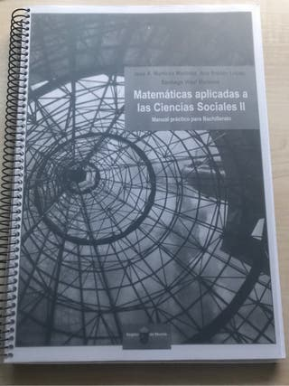 Libro matemáticas ccss segundo de bachillerato