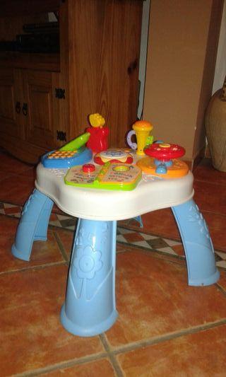 Mesa electronica niño/bebé