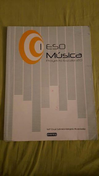 Libro de música.