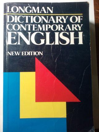 Dicionario de ingles Longman