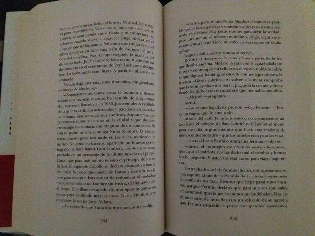 Libro Carlos Ruiz Zafon de segunda mano por 15 € en Getafe ...