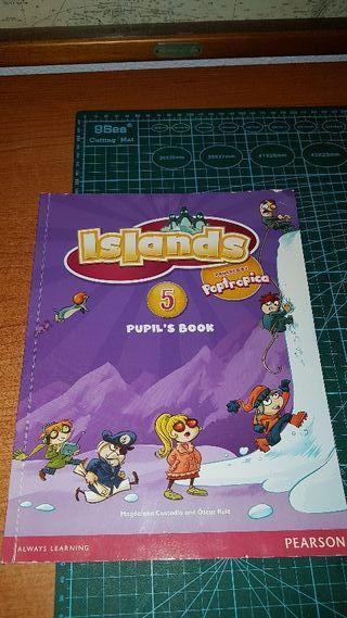libro ingles islands 5 pupil's book