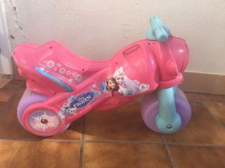 Moto frozen niña 2-3 años