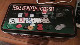 Juego Texas Holdem Poker Set