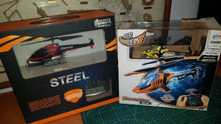 2 helicopteros