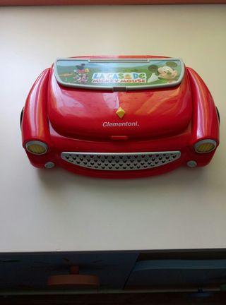 ordenador infantil Mickey Mouse.