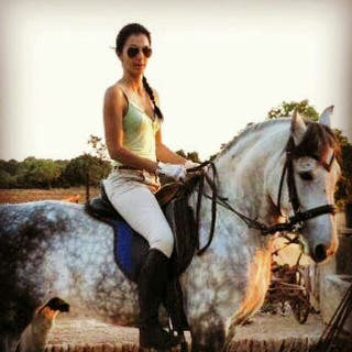 Cuidadora de caballos