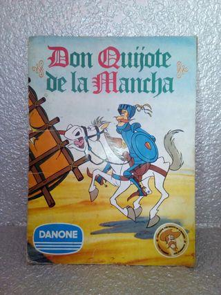 Album Don Quijote de Danone 1978
