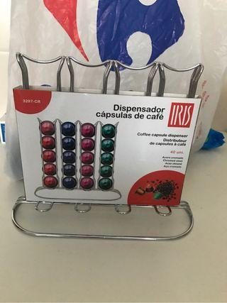 Dispensador capsulas cafe