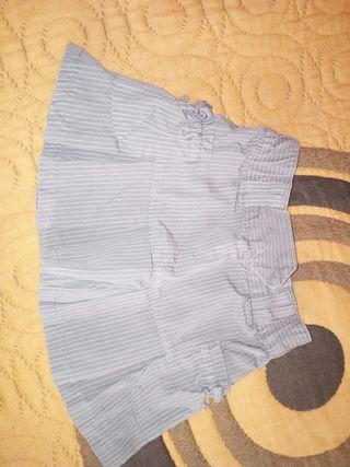 falda talla 24 meses