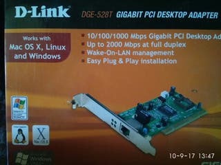 PCI, desktop adapter DGE-528 T Gigabit