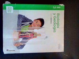 Libro de Biología y Geología 3 ESO+libro practicas