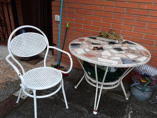 mesa jardin de segunda mano por 60 en olivella wallapop