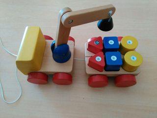 Juguete educativo de madera