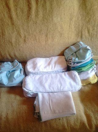 pañales lavables bebe