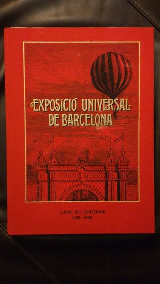 Llibre Exposicio universal de Barcelona