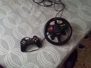mando consola y volante