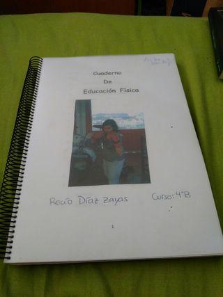 Cuaderno de educación fisíca