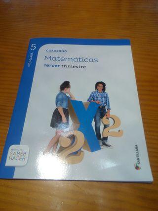 cuadernillo de 5° primaria