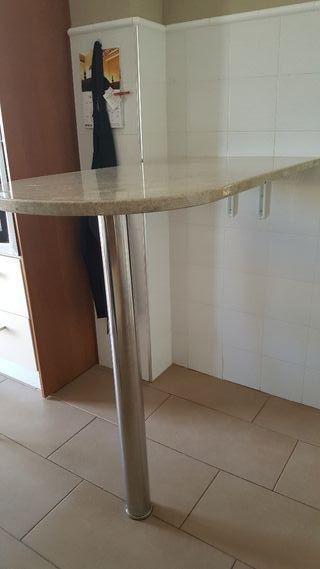 Mesa barra para cocina o bodega de segunda mano por 110 - Mesa barra cocina ...