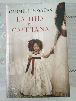 Libro : LA HIJA de CAYETANA