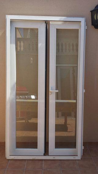 puertas climalit de aluminio